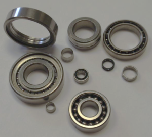 "PKB manufactures bearings up to 1.125"" O.D."