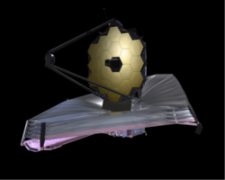 The James Webb Space Telescope Photo Courtesy of Northrop Grumman