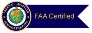 Federal Aviation Administration Certified Logo