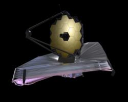 The James Webb Space Telescope Photo Courtesy of Northrop Grumman
